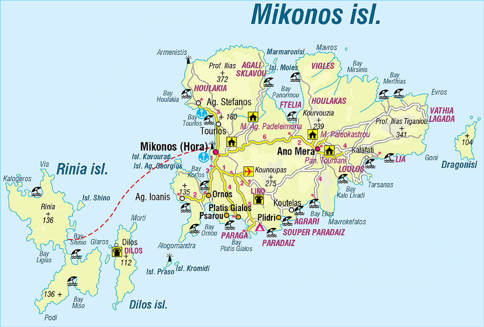 how to get to mykonos from nyc